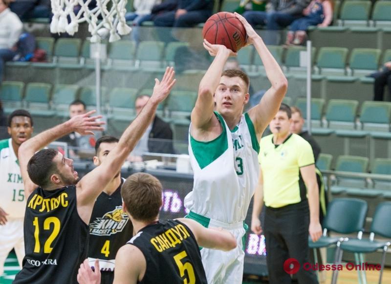 Южненский «Химик» выиграл первый финальный матч баскетбольной Суперлиги