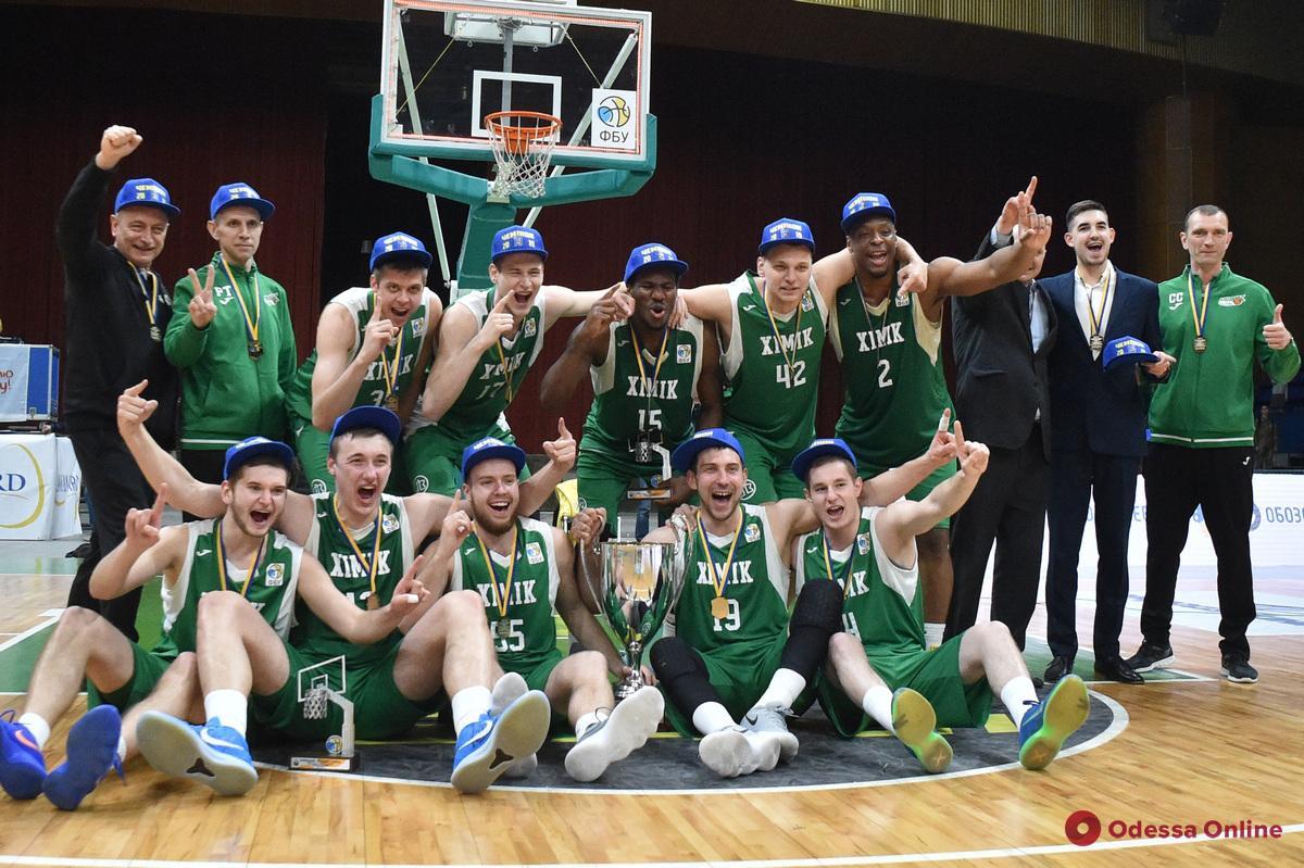 Баскетбол: южненский «Химик» впервые в истории сразится за Суперкубок Украины