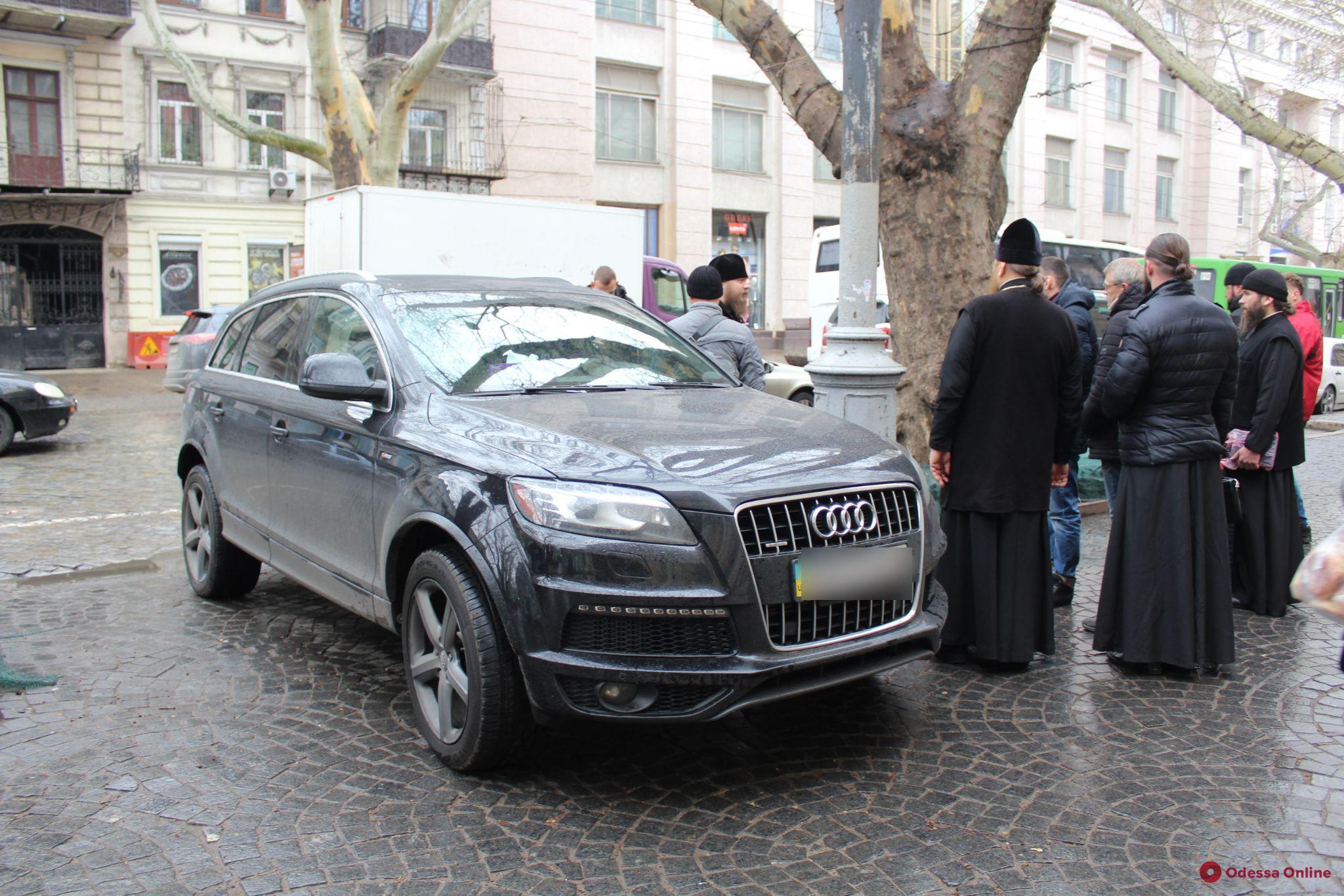 В Одессе «заминировали» авто священнослужителя