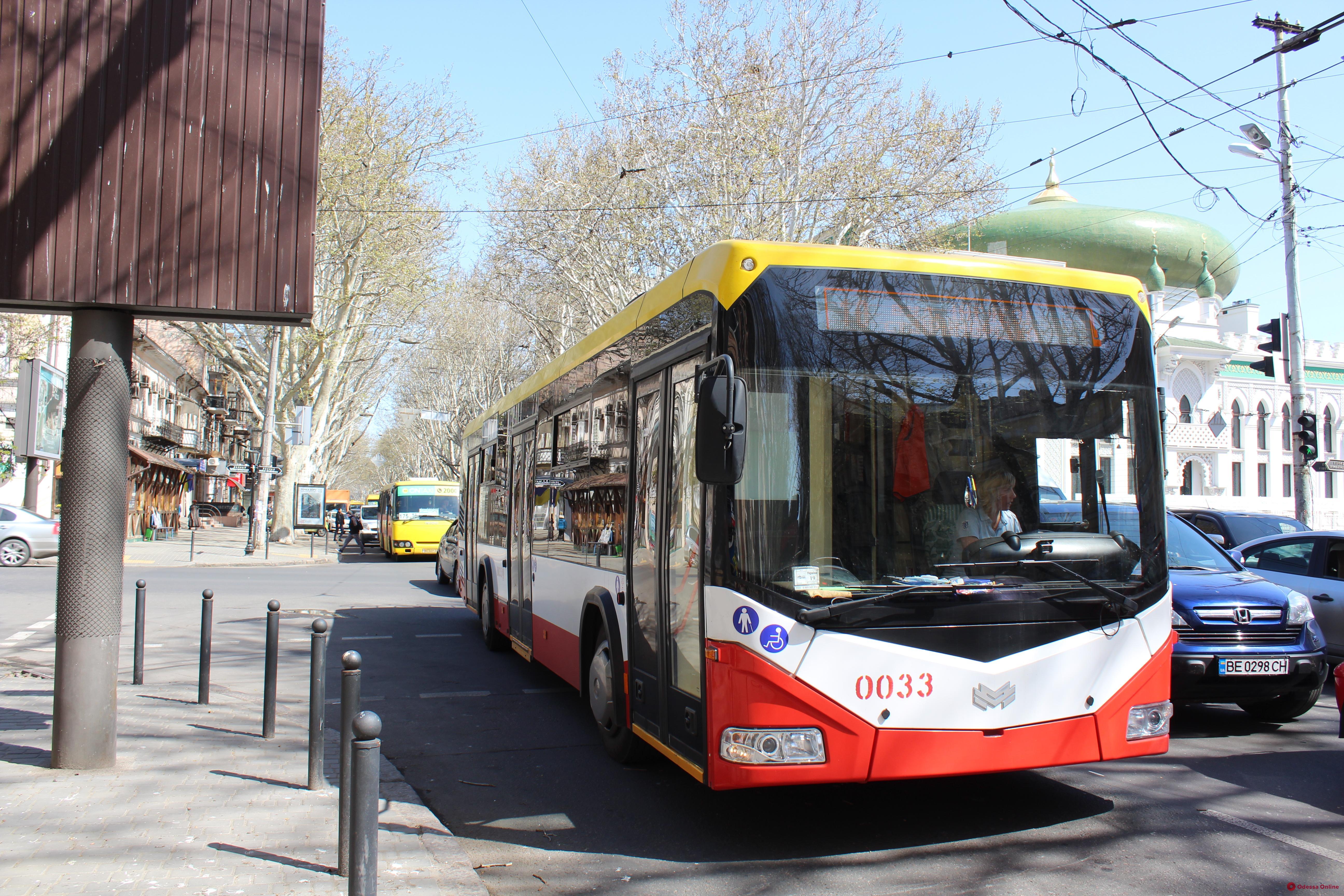 Возобновлена работа троллейбуса по маршруту №2