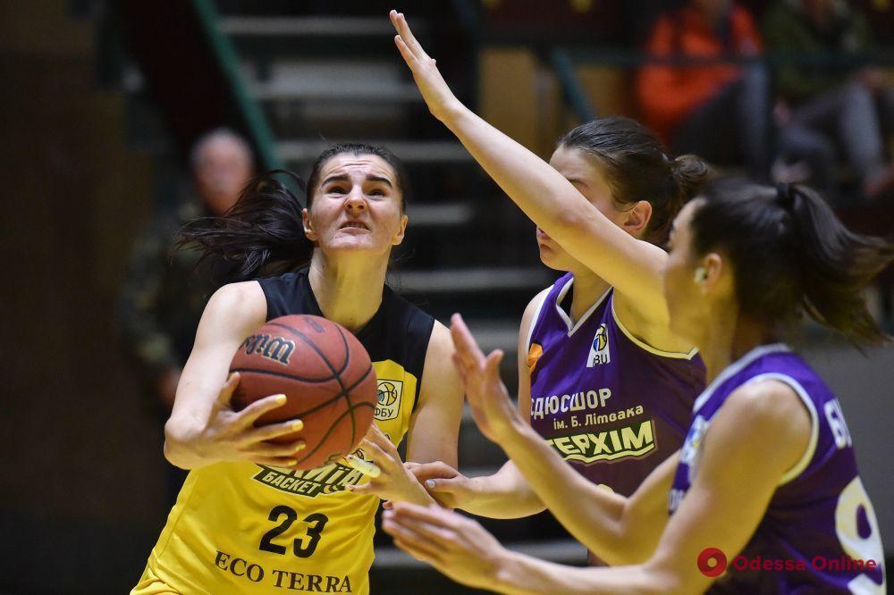 Одесские баскетболистки потерпели болезненное поражение в Киеве