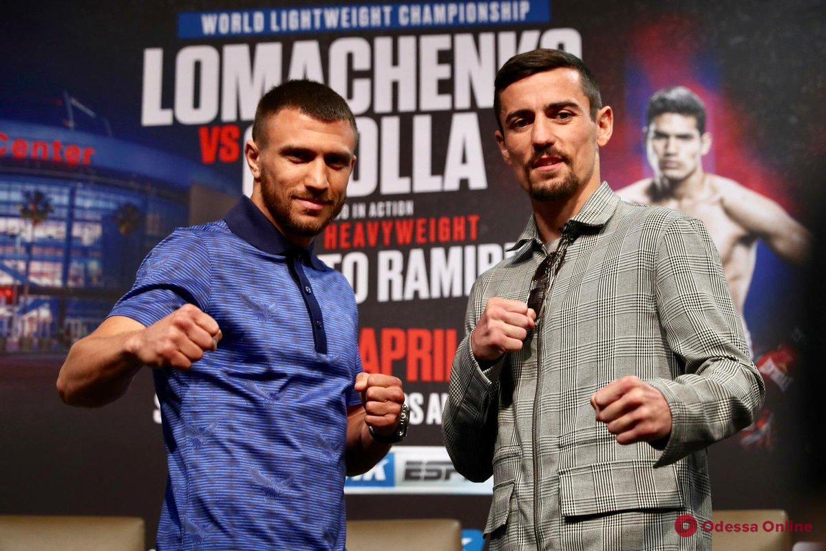 Суббота начинается с бокса: завтра Василий Ломаченко сразится с британцем