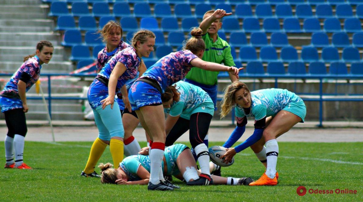 Во-первых, это красиво: в Одессе пройдет первый тур женской Суперлиги Украины по регби-7