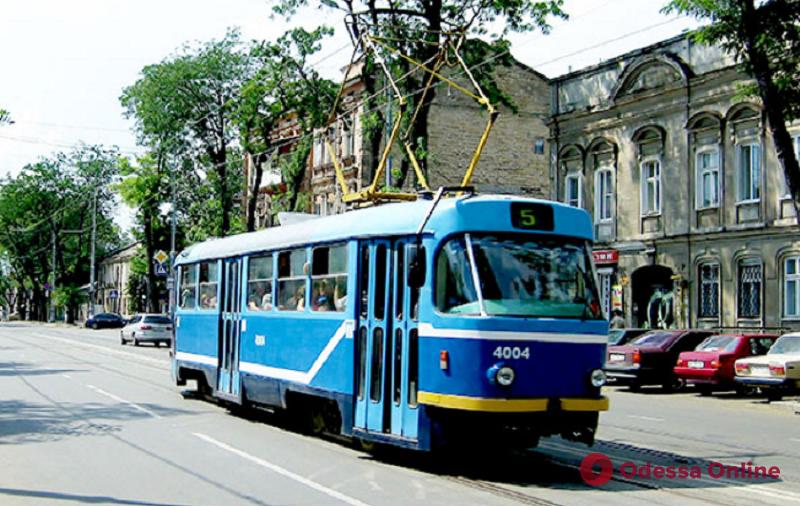 На Молдаванке из-за ДТП не ходят трамваи