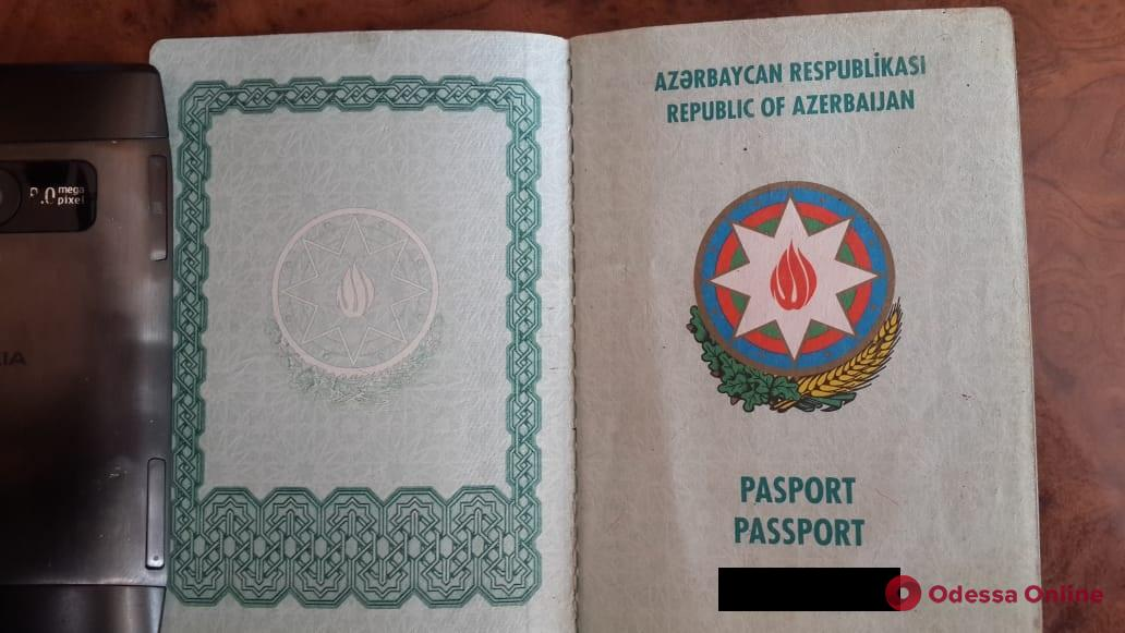 В Одесской области задержали азербайджанца-нелегала