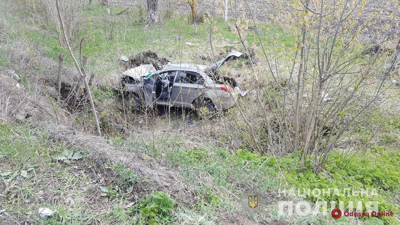 В Одесской области легковушка слетела в кювет — есть погибший