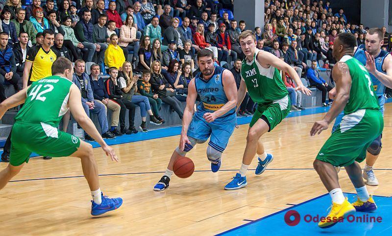 Баскетбол: «Химик» повторно проиграл в Днепре в полуфинале плей-офф Суперлиги