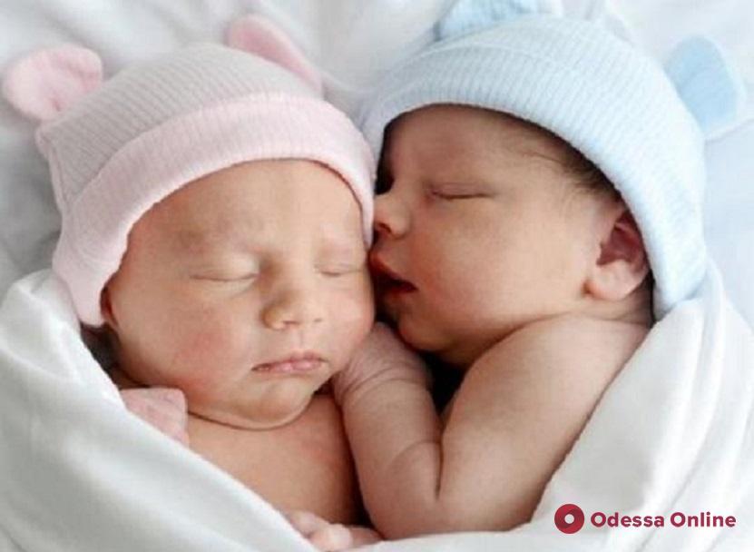 В Одессе на минувшей неделе родились три двойни