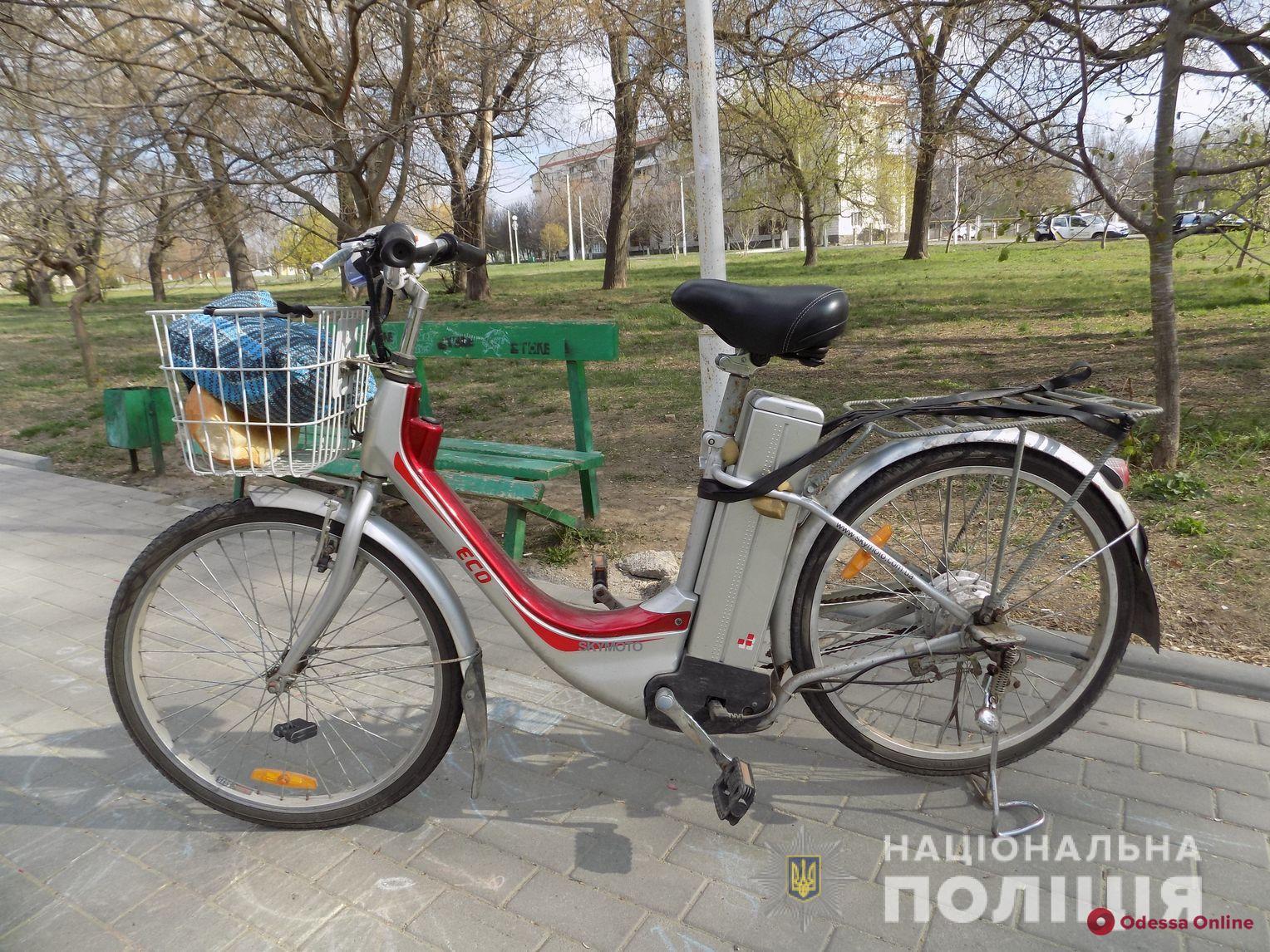 Одесская область: пенсионер поймал и передал в полицию велоугонщика