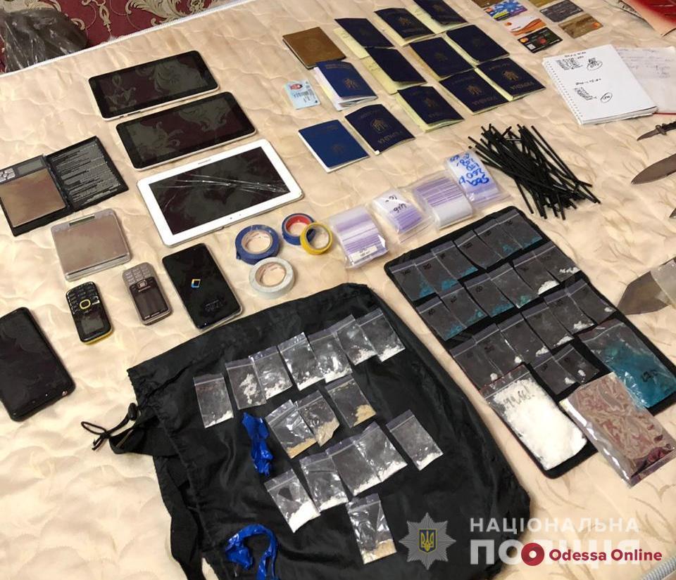 В Одессе поймали группу наркоторговцев