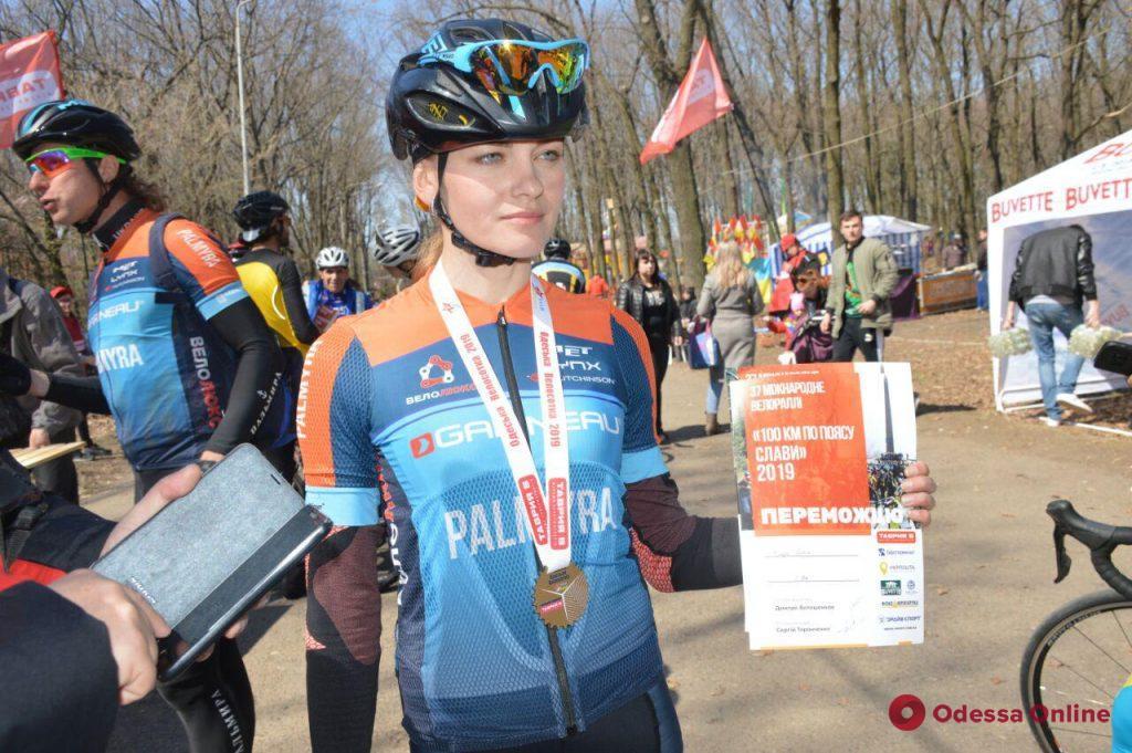 Велосотка: тройка лидеров пришла с отрывом в одну секунду