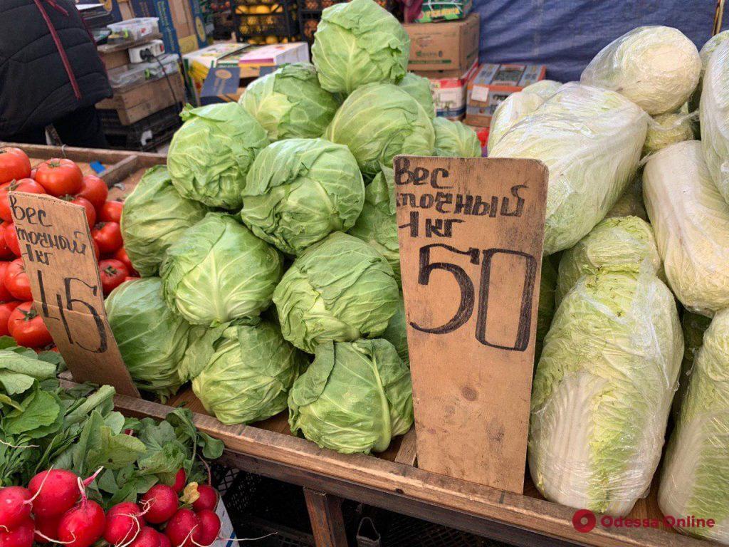 Дайкон, микадо и арбузная редька: апрельские цены на одесском «Привозе»
