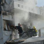 На Ланжероне горит ресторан — есть пострадавшая