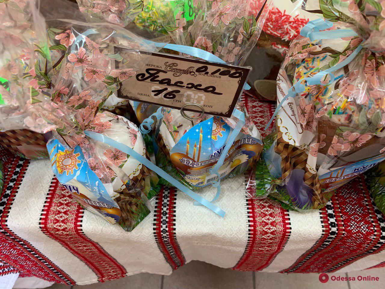 Пасха-2019: во сколько одесситам обойдется минимальный набор для праздничной корзины