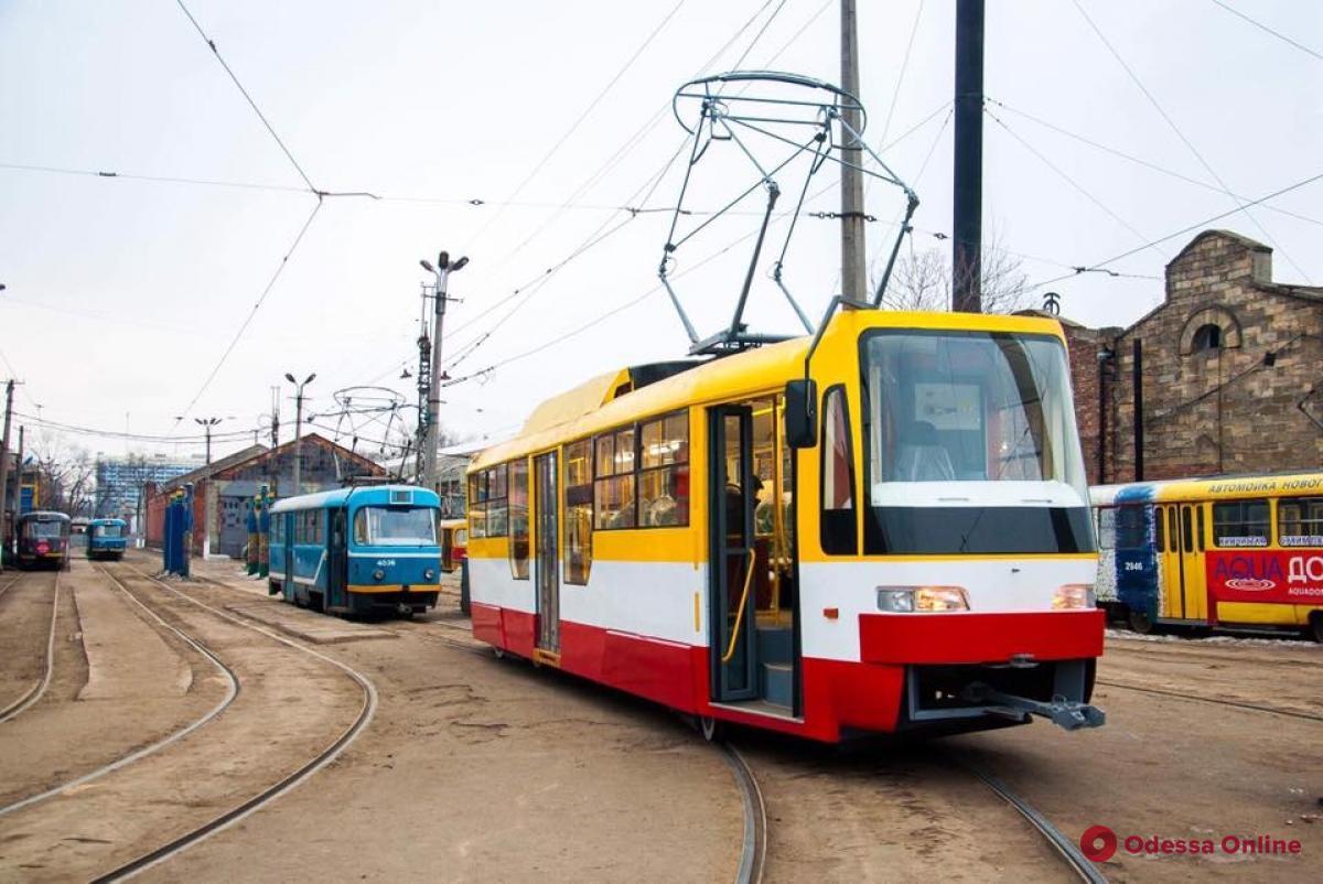 В Одессе запустят летний трамвай