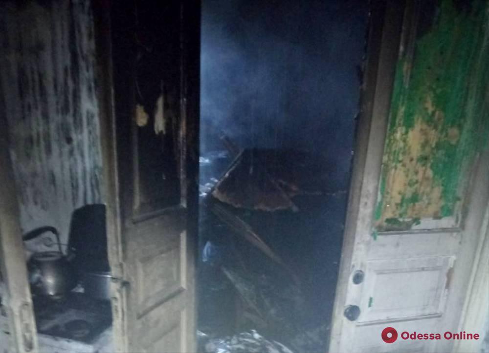 Пожар в Одесской области унес жизнь мужчины