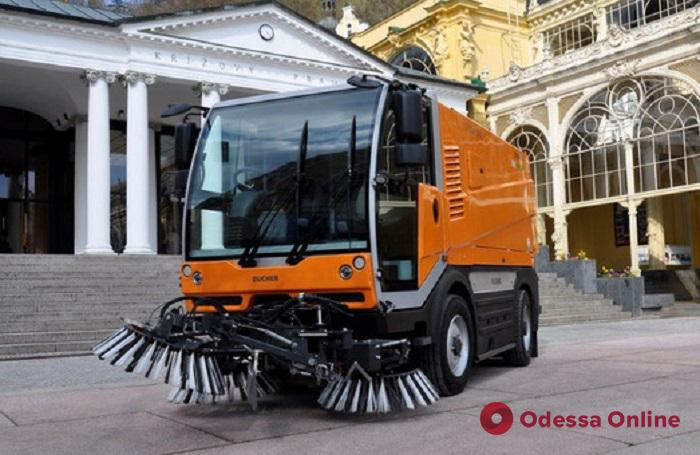 В Одессе появится новая спецтехника для уборки улиц