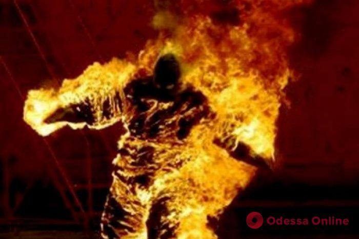 Житель Одесской области заживо сжег знакомого