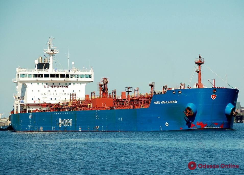 В Одесский порт прибыл танкер с турецким дизтопливом