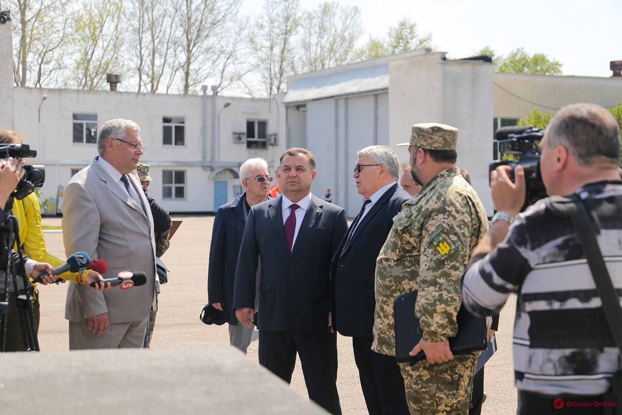 Министр обороны о ремонте санатория «Одесский»: здравница получит 100 миллионов