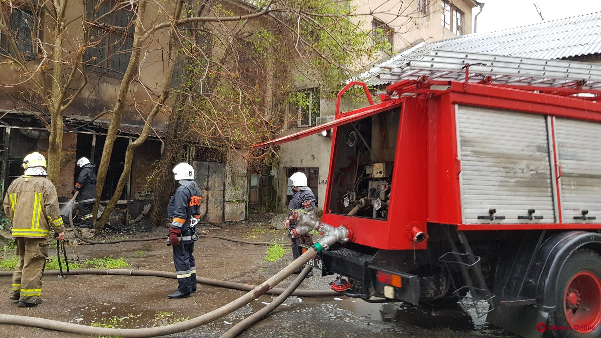 Вероятная причина пожара в одесской пищевой академии – поджог
