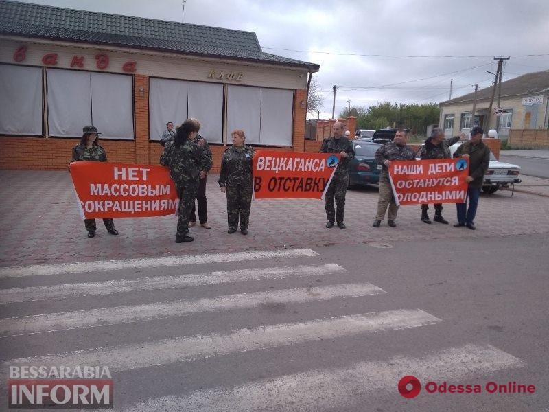 Охранники Измаильского порта перекрывали трассу Одесса-Рени