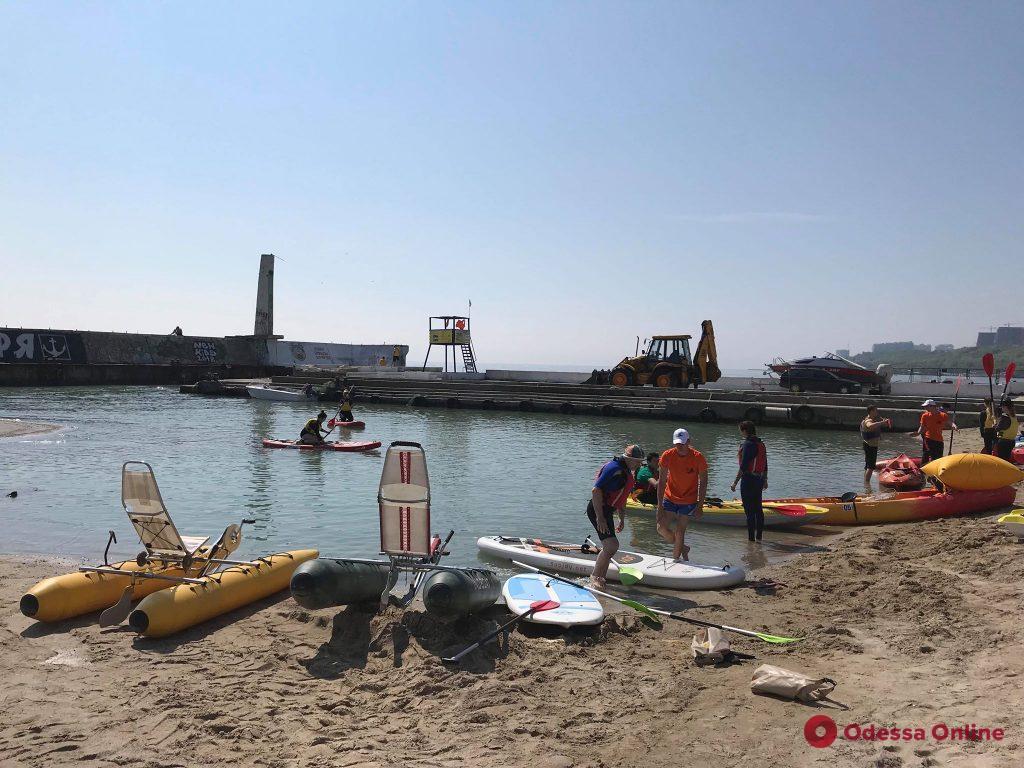 В Одессе открылся сезон водного спорта (фото)