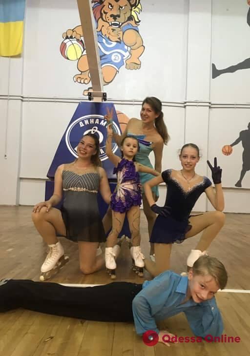 Фигурное катание на роликовых коньках: в Одессе прошли сразу два крупных турнира