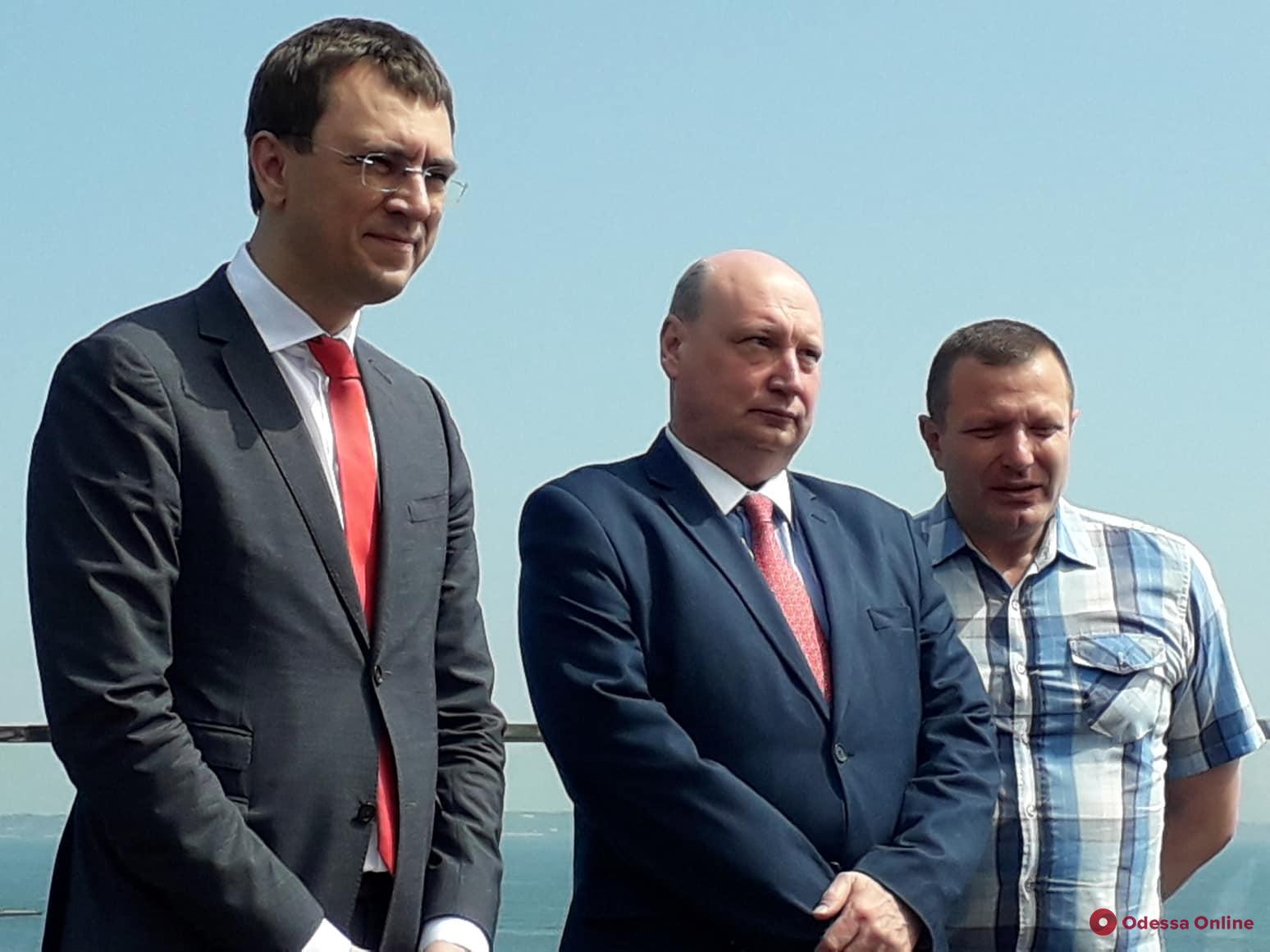 В Одессе министр инфраструктуры рассказал о перспективах развития транспорта