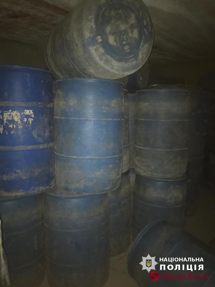 В Одесской области ликвидировали незаконный трафик спирта