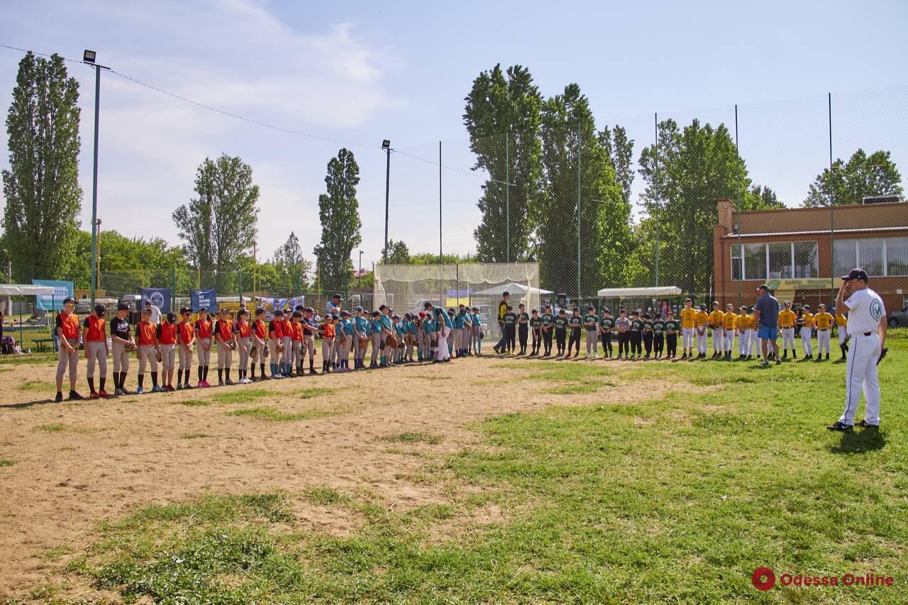 Бейсбол: в Одессе завершился чемпионат области среди детей