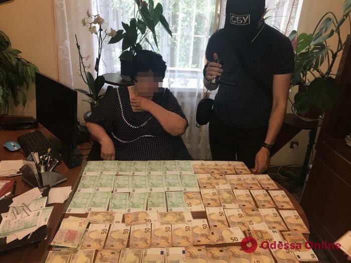 В Одесской области попалась на взятке глава сельсовета