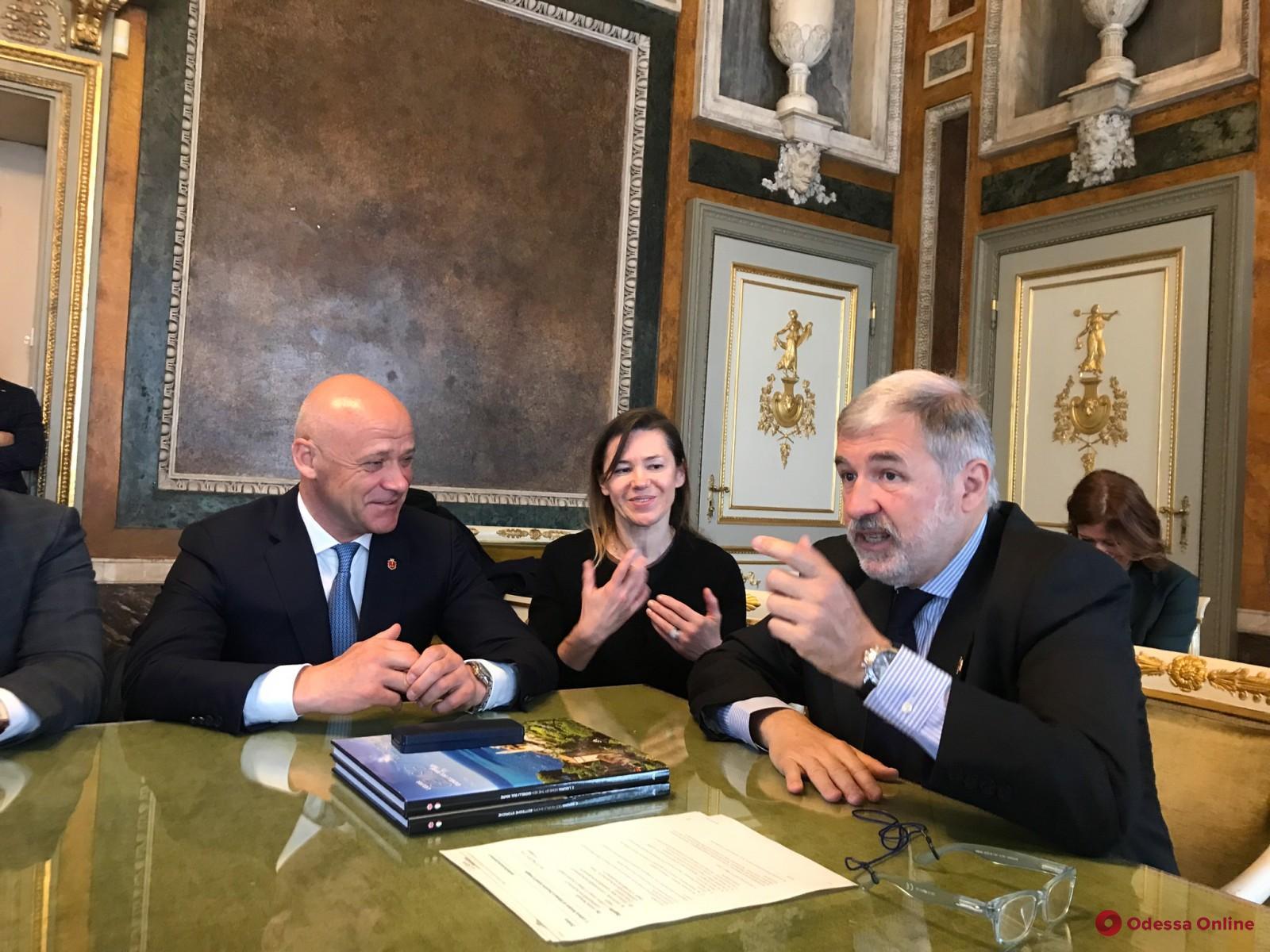 Мэр Одессы отправился в Геную для укрепления побратимских связей между городами