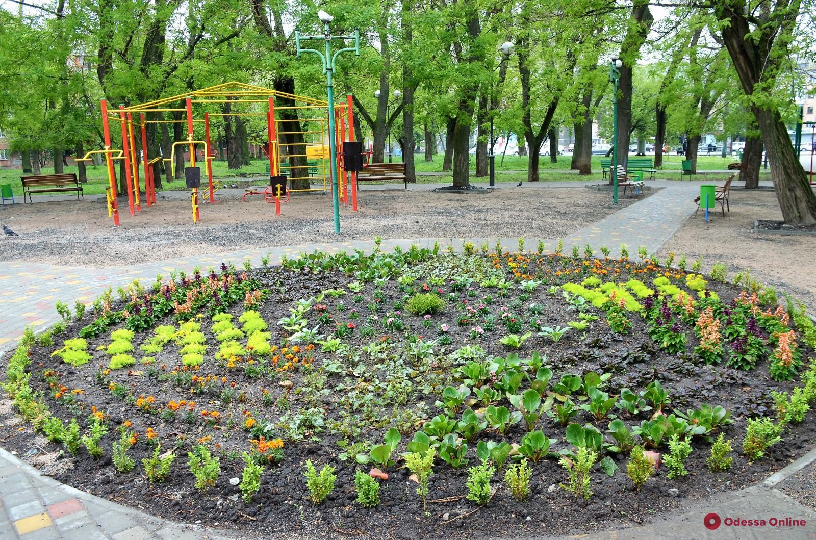 В Одессе благоустраивают парк Космонавтов