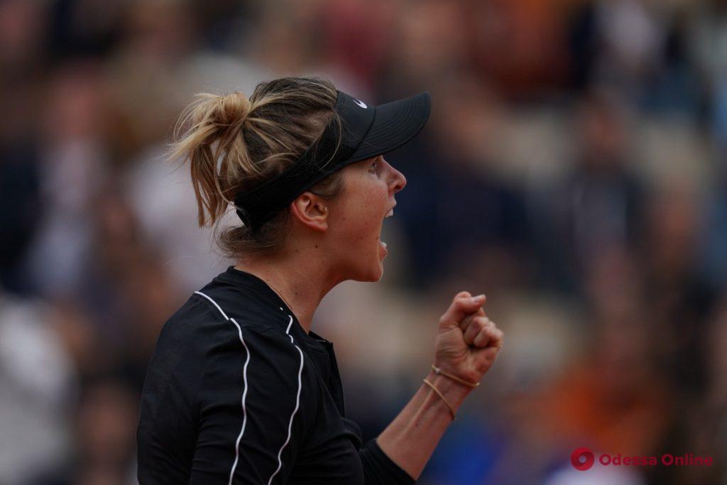 Roland Garros: одесская теннисистка стартовала с победы над Уильямс