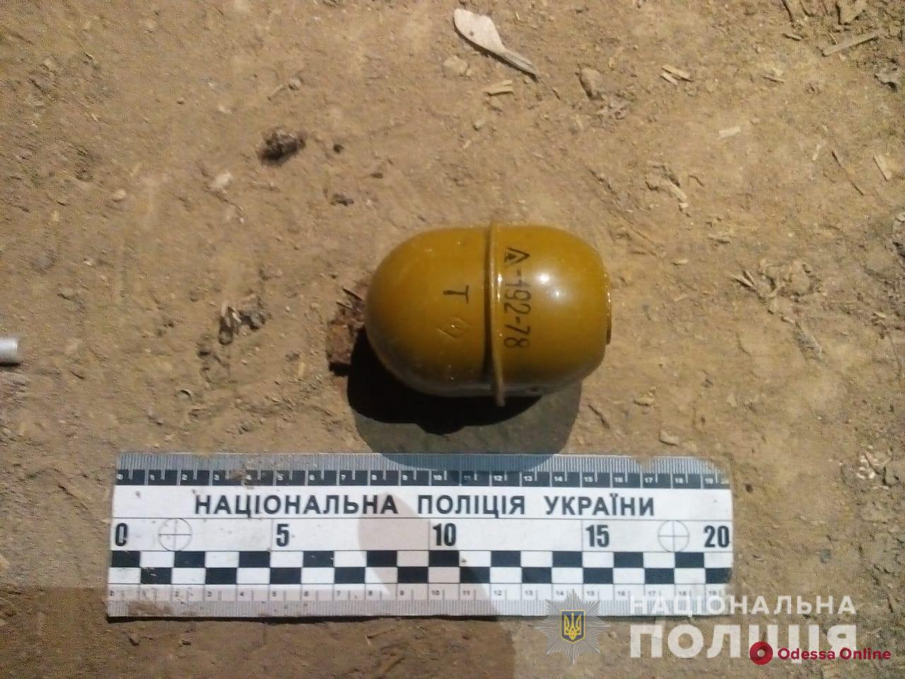 Житель Одесской области хранил на чердаке боевую гранату