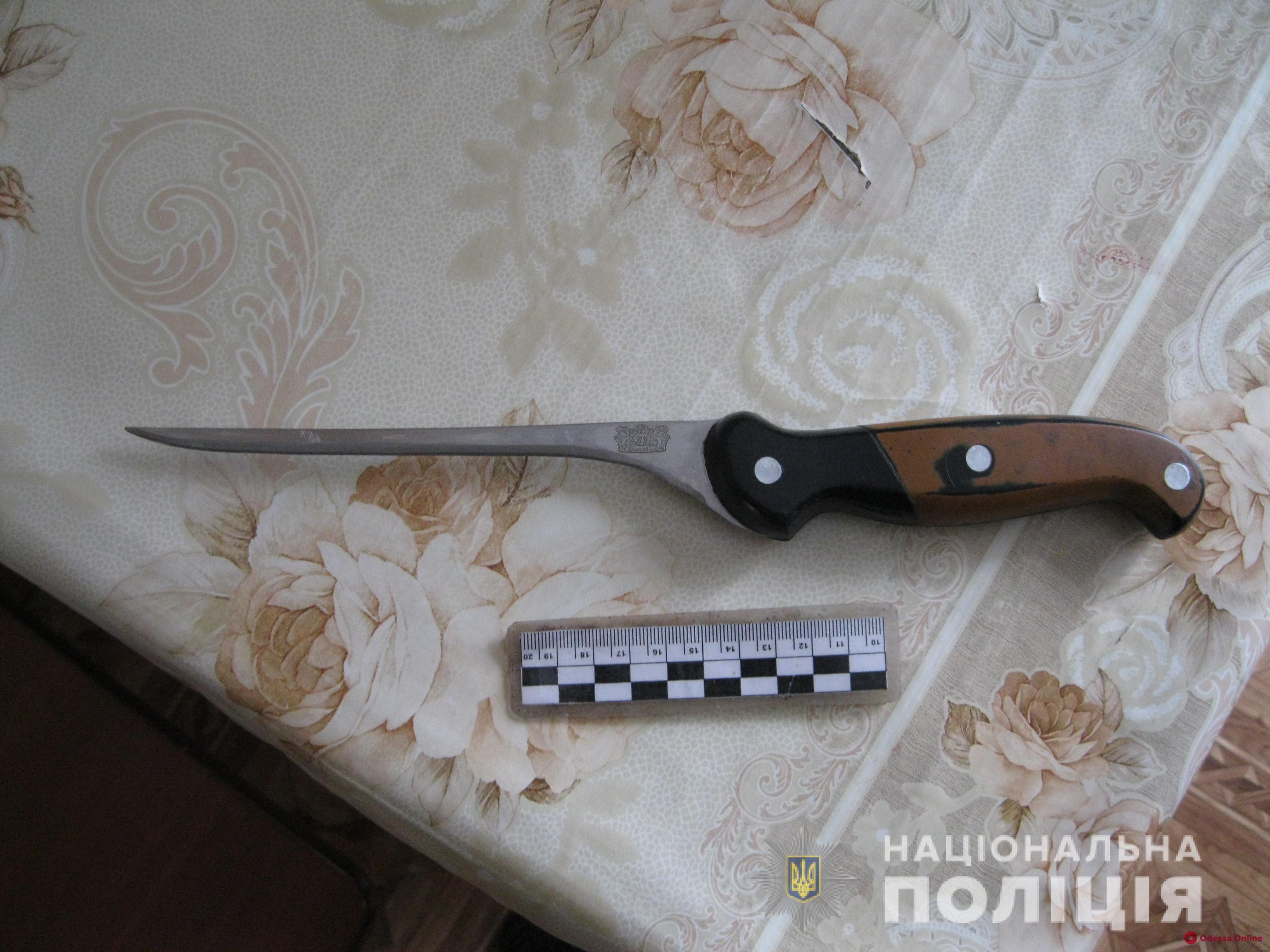 В Одесской области ссора отца и сына закончилась поножовщиной