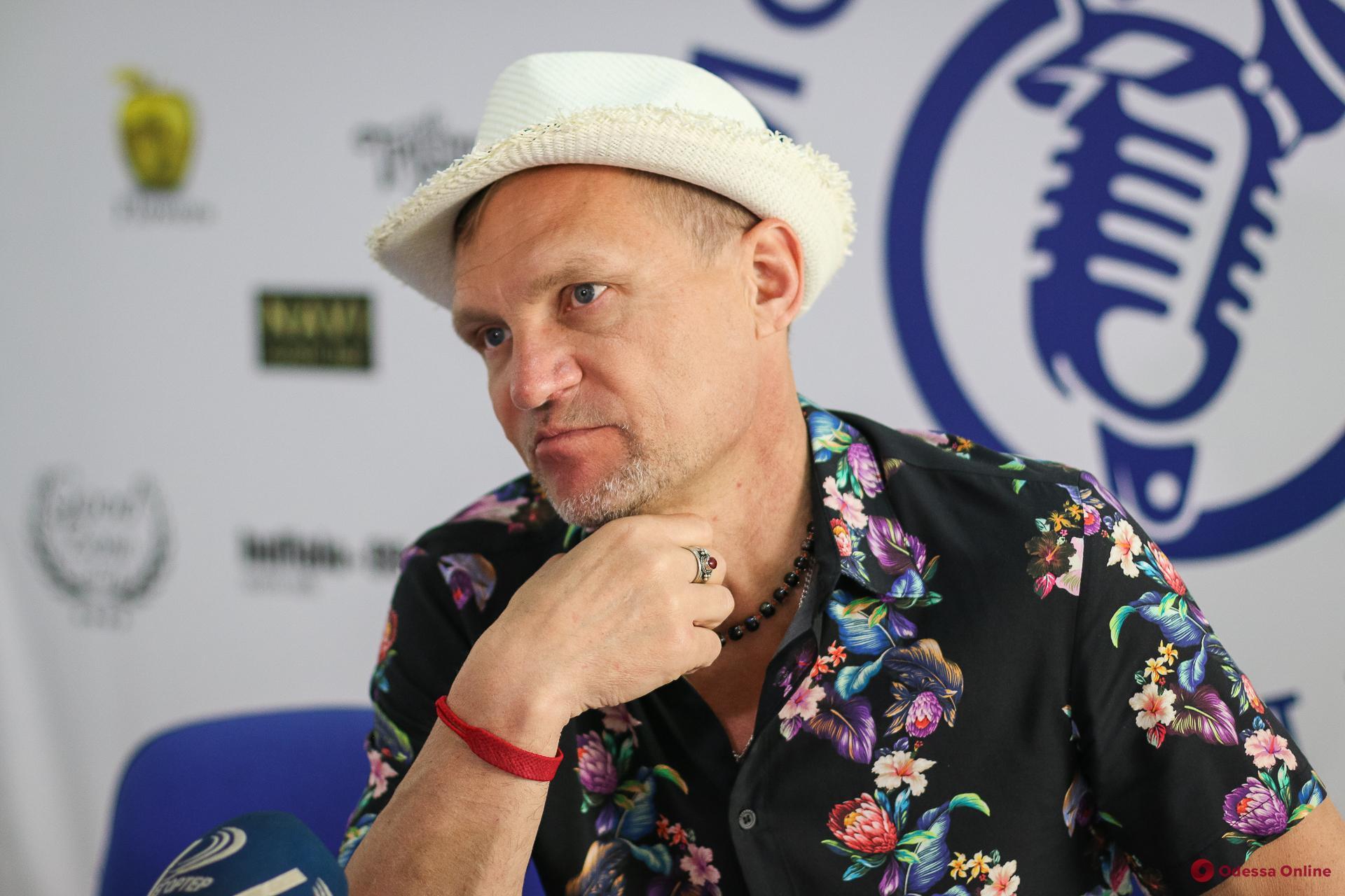 Олег Скрипка отметил свой юбилей в Одессе