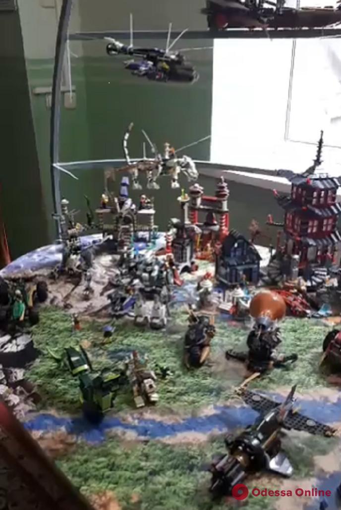 Одесса: 11-летний коллекционер конструкторов LEGO стал рекордсменом (видео)