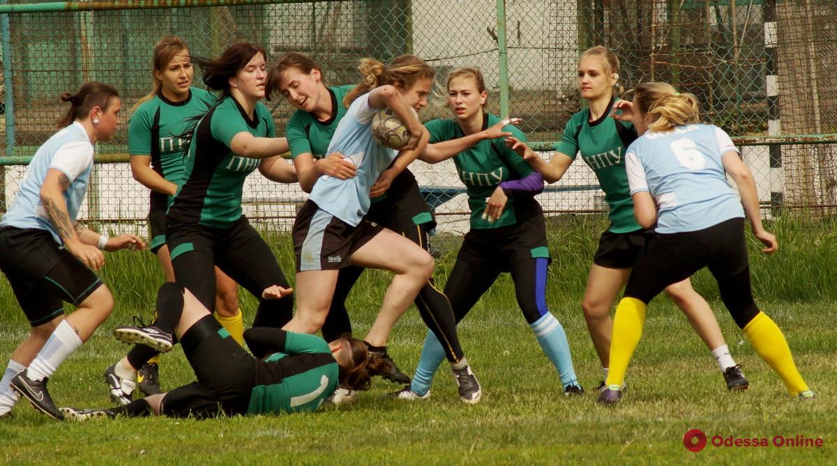 Одесские регбистки определили сильнейшую студенческую команду области
