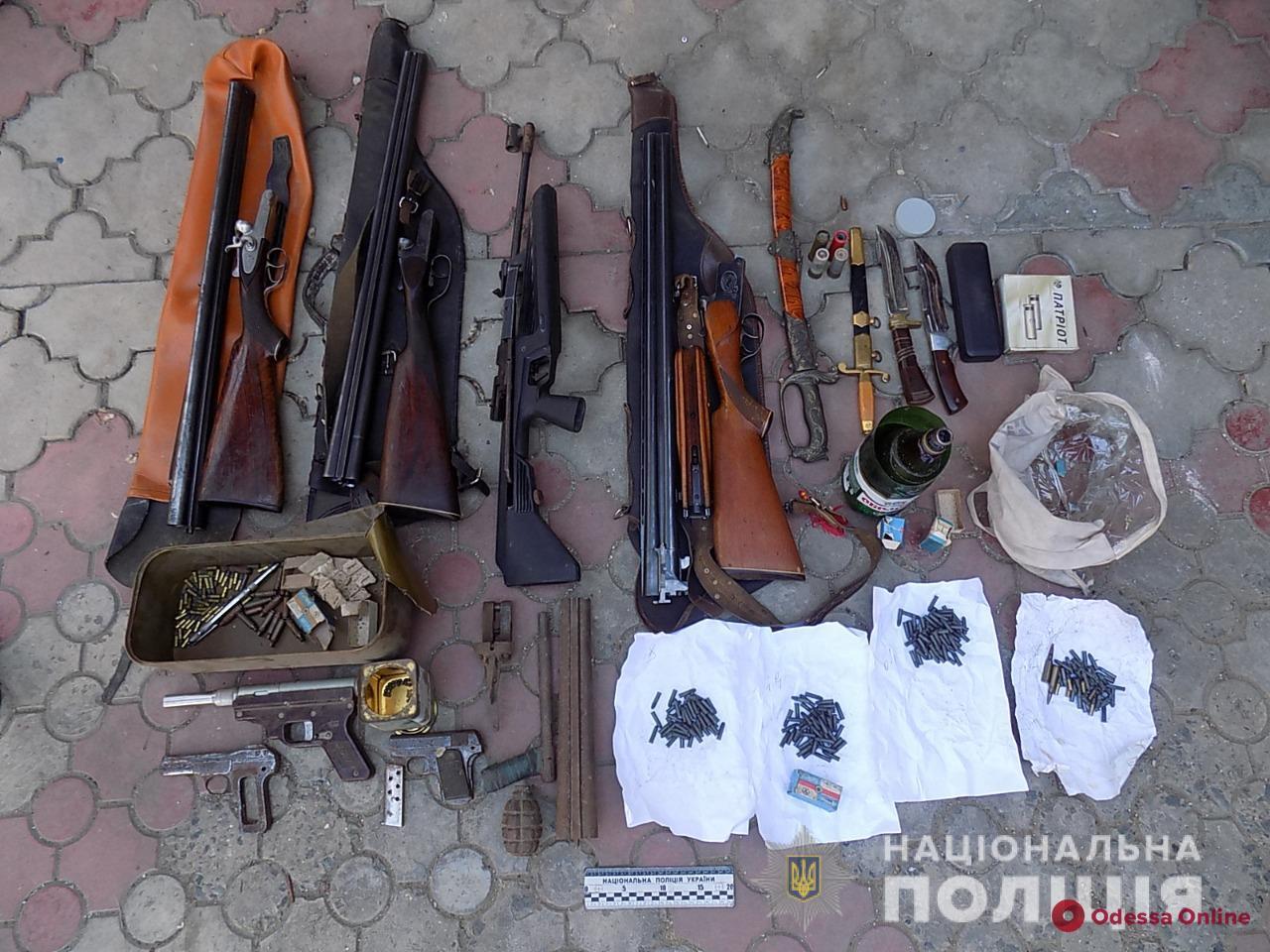Опасное наследство: житель Одесской области хранил дома арсенал оружия