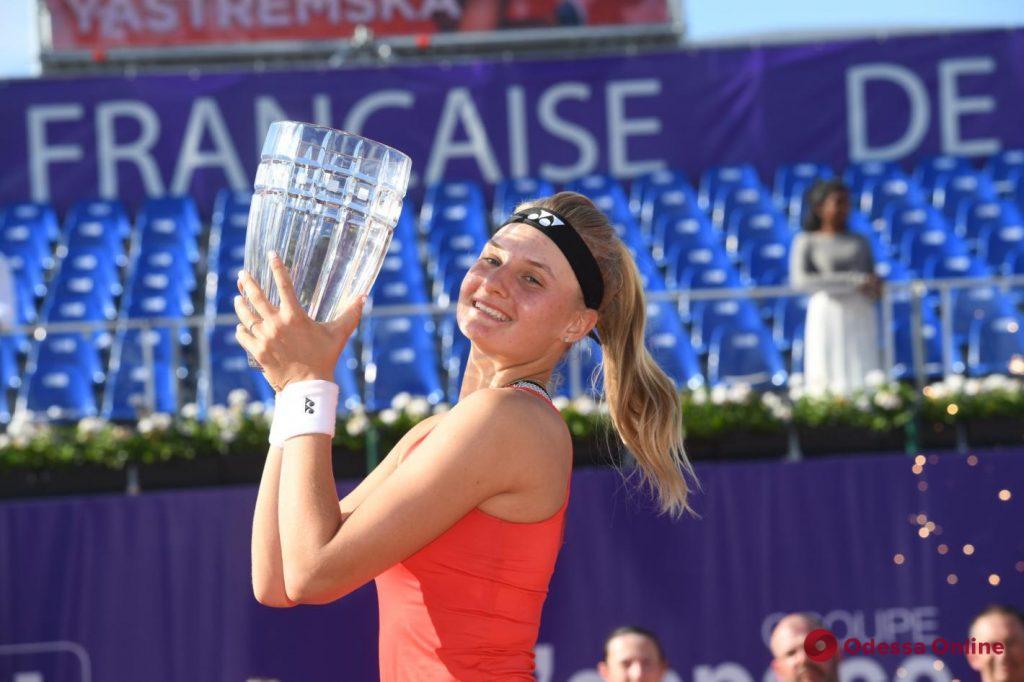 Вошла в историю: одесская теннисистка побила свой рекорд в мировом рейтинге