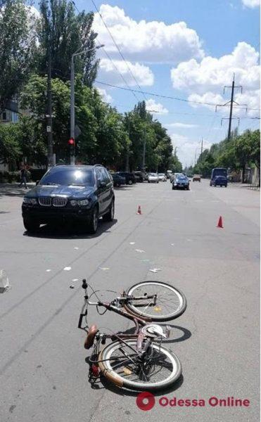 В Одессе юная велосипедистка пострадала в ДТП