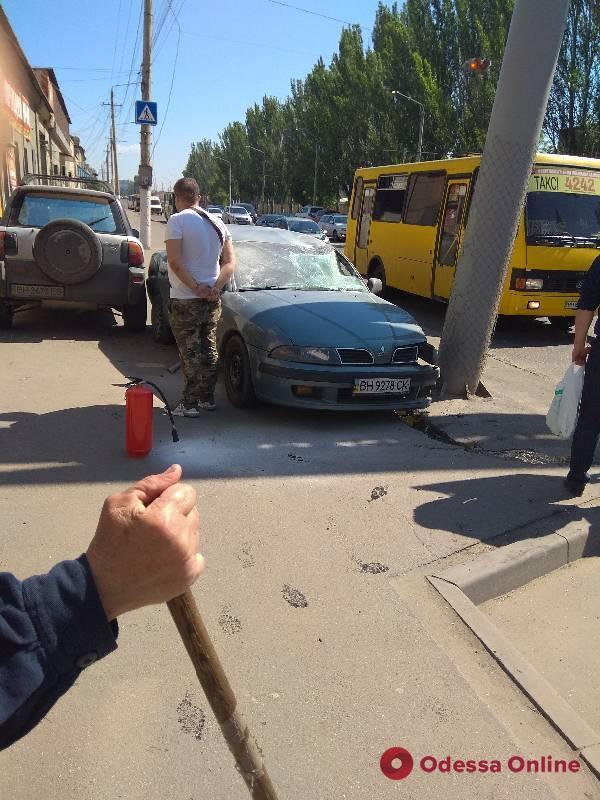 На Николаевской дороге сбили пешехода