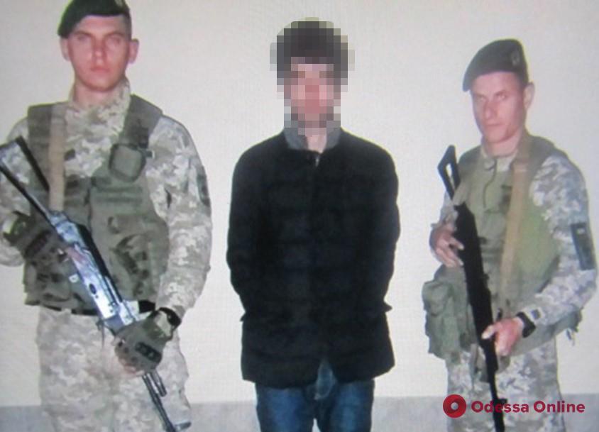 В Одесской области поймали нелегала на лодке