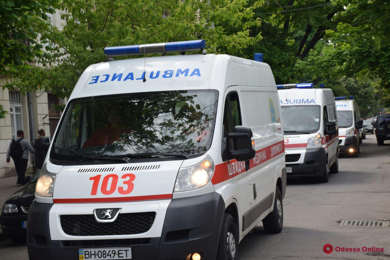 В Одессу прибыл очередной борт с ранеными бойцами