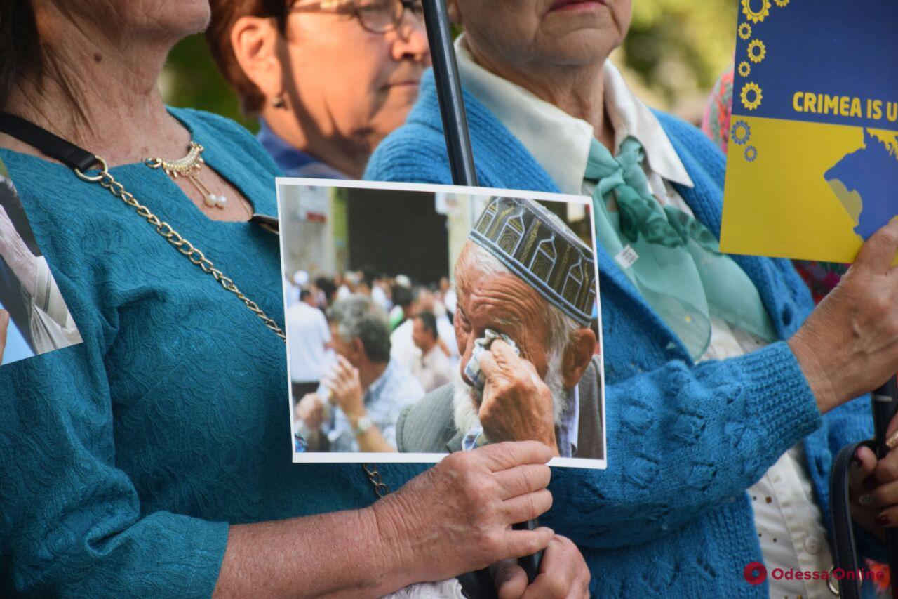 В Одессе почтили память жертв геноцида крымско-татарского народа