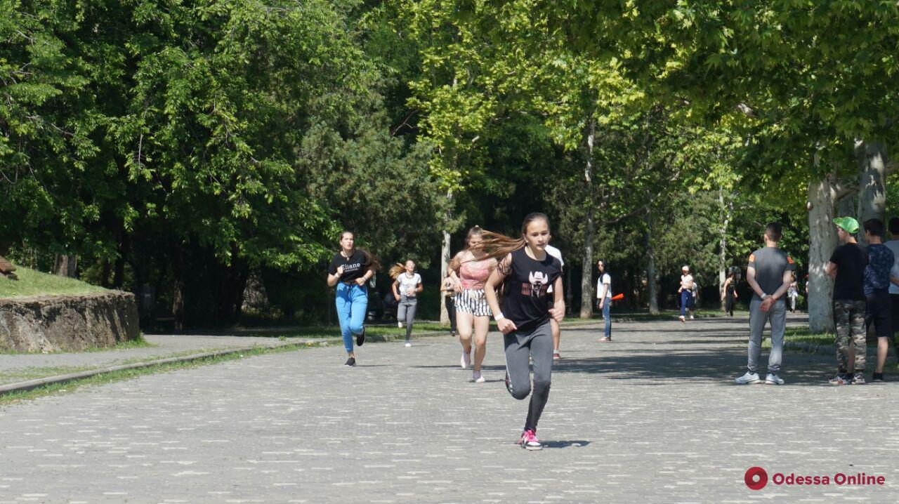 В парке Шевченко состоялся благотворительный детский марафон (фото)