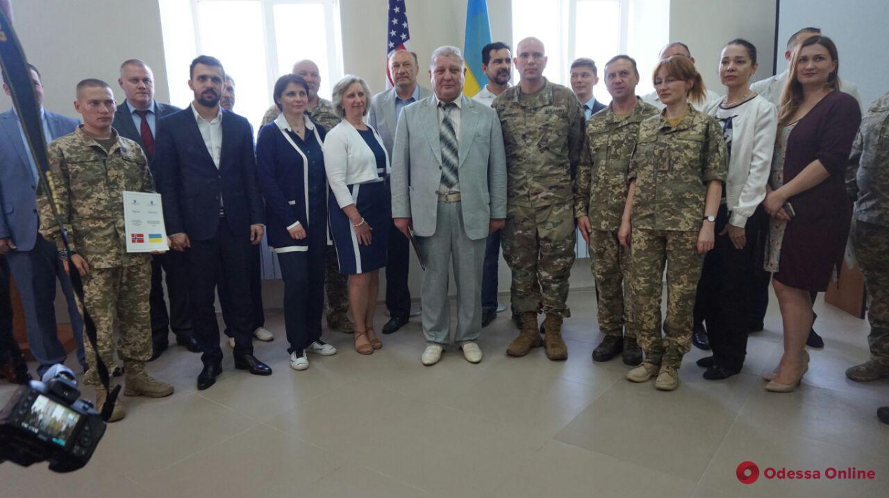 В Одесском педуниверситете открыли Центр реабилитации военнослужащих