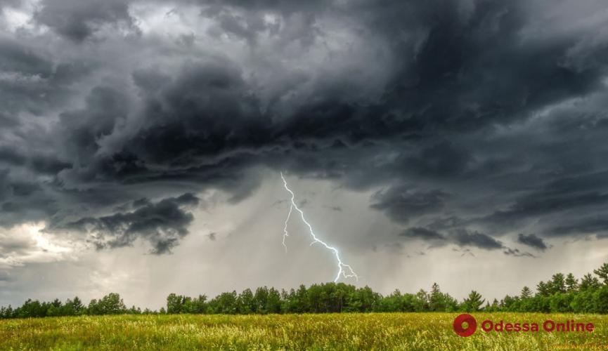 В Одесскую область идут жара и грозы